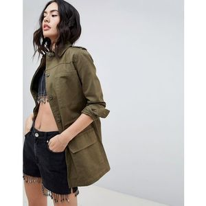 Missguided Utility Jacket - Green