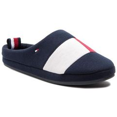 Kapcie TOMMY HILFIGER - Flag Homeslipper FM0FM02178 Midnight 403