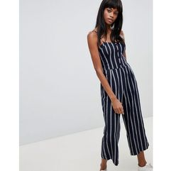Abercrombie & Fitch Button Through Jumpsuit - Navy