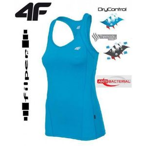 4f Top fitness damski tsdf005 - turkus