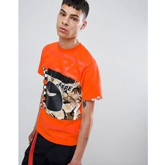 Aape by a bathing ape� Aape by a bathing ape camo block panel t-shirt in orange - orange