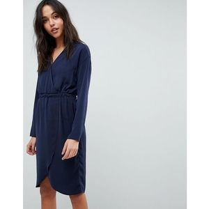 Y.A.S Wrap Dress - Blue, w 3 rozmiarach