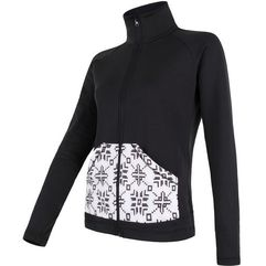 Sensor bluza Tecnostretch Pattern W black L (8592837049458)