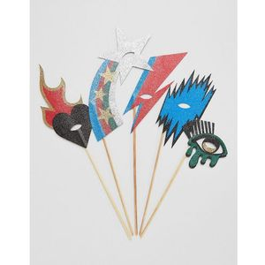 Monki Photo Booth Party Masks - Multi