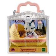 Sylvanian Families Baby Carry Case Cat in Cradle (5054131051986)