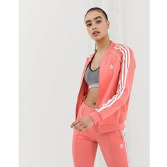 Adidas originals track jacket in pink - pink