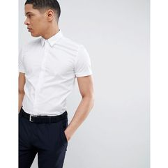 stretch short sleeve shirt in white - white, Antony morato, XS-M