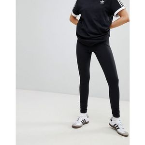 Adidas originals adicolor trefoil leggings in black - black