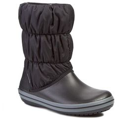 Śniegowce - winter puff 14614 black/charcoal, Crocs, 36.5-41.5