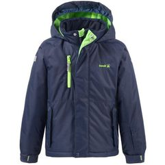 Kamik kurtka narciarska hunter solid peacoat 104 blue/green