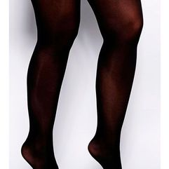 50 denier tights - black marki Asos curve