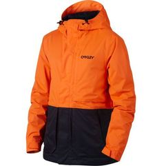 Oakley kurtka HIGHLINE 10K BZS JACKET Neon Orange L