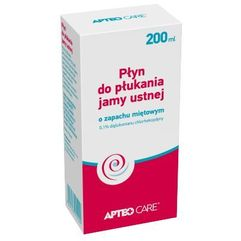 Synoptis pharma Apteo care płyn do płukania jamy ustnej 200ml