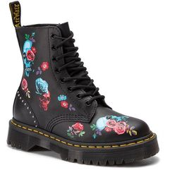 Glany - 1460 pascal bex rose 24424001 black/multi, Dr. martens, 36-40