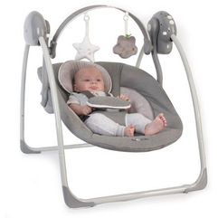 Bo Jungle huśtawka B-Portable Swing Grey