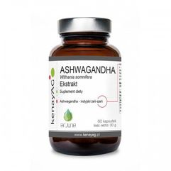 Kapsułki Ashwagandha 500 mg (60 kaps.) Arjuna Natural Extracts