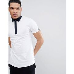 Antony Morato Polo Shirt With Contrast Collar In White - White, w 4 rozmiarach