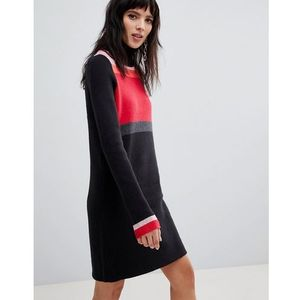 Free People Winter Break rollneck jumper dress - Black, kolor czarny