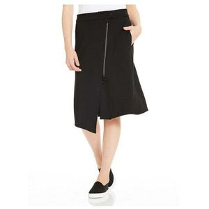 Spódnica - sweat skirt asymetrical zip front black beauty (bk11179) marki Bench