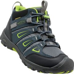 KEEN buty trekkingowe Oakridge Mid Wp Jr Midnight Navy/Macaw US 3 (35 EU)