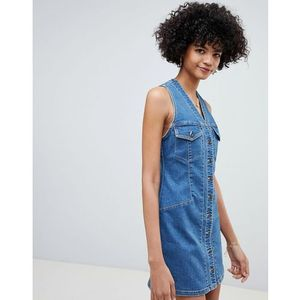 wandering star denim mini dress - blue, Free people