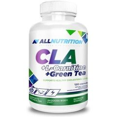 Allnutrition cla + l-carnitine + green tea x 120 kapsułek