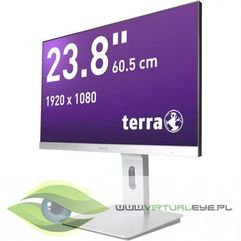 led 2462w pv silber dp/hdmi greenline plus marki Terra