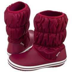 Śniegowce Crocs Winter Puff Boot W Pomegranate 14614-6D7 (CR135-b), 14614-6D7