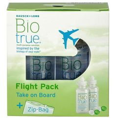 Bausch & lomb Biotrue flight pack 2 x 60 ml (7391899845869)