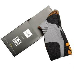 Globe Skarpetki - yes/globe pow pow sock grey/orange (gryorg) rozmiar: s/m