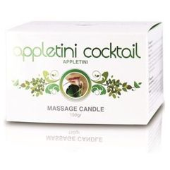 Cobeco Appletini cocktail massage candle tin (appletini) (8718546542459)