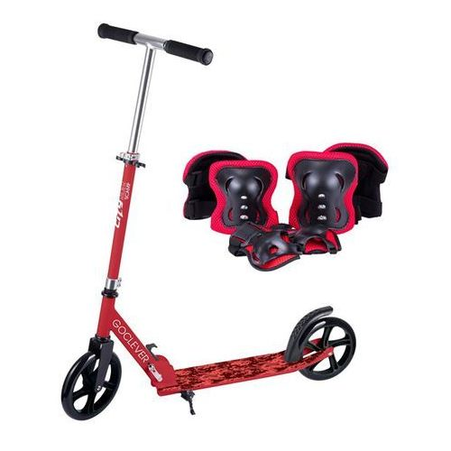 "CITY RIDER 8"" SCAMP RED"