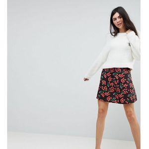 skater skirt in cherry print - multi marki Asos tall