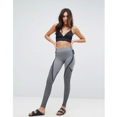 Abercrombie & fitch santoni legging with logo - grey