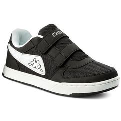 Sneakersy KAPPA - Trooper Light Sun K 260536K Black/White 907