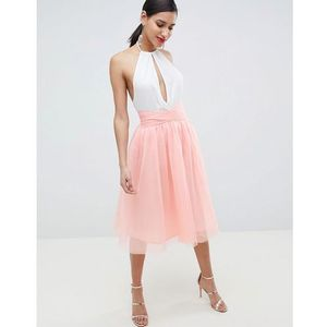 Little Mistress Tulle Skirt - Pink, kolor różowy