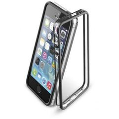 CELLULAR LINE BUMPER do iPhone 5/5S, czarne, kolor czarny