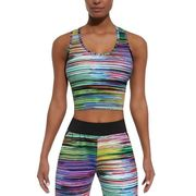 Damski top sportowy BAS BLACK Tropical-Top 30, Kolorowy, L