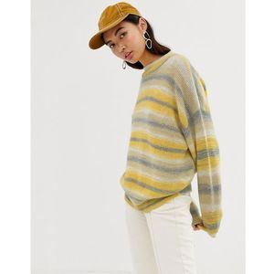 Weekday space dye knitted jumper - Beige, w 4 rozmiarach