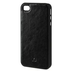 Xqisit Etui do apple iphone 4/4s iplate eman czarny (4029948027470)