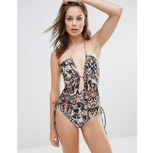 Minkpink Animal Print One Piece Suit - Multi
