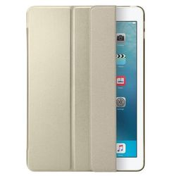 Spigen smart fold etui smart cover z podstawką ipad 9.7 2018 / 9.7 2017 złoty (gold) (8809565307218)