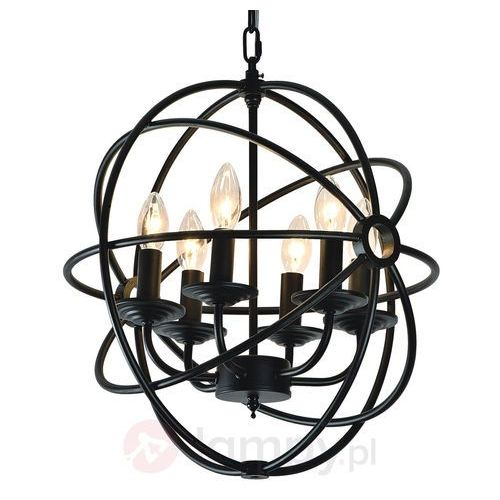 SPOT LIGHT Żyrandol CAGE 6xE14 60W 9500604