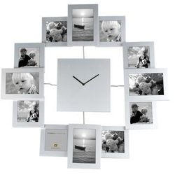 Photo frame clock Family Time XL