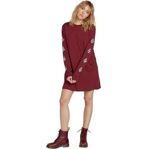 Sukienka - what a trip dress zinfandel (zin) rozmiar: l, Volcom